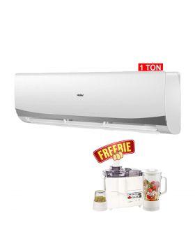 Haier HSU-12HFM Marvel 1 Ton DC Inverter Air Conditioner + National 3 In 1 Juicer, Blender & Dry Mill SP-178-J