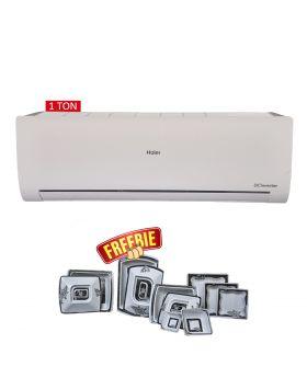 Haier HSU-12HFC 1 Ton Wifi DC Inverter Air Conditioner + Marvel Dinner Set