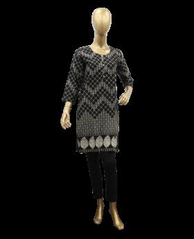 ladies-stiched-kurti-black-with-arrow-design