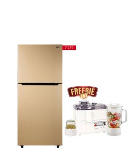 Orient Grand 205 Liters Refrigerators + National 3 In 1 Juicer, Blender & Dry Mill SP-178-J