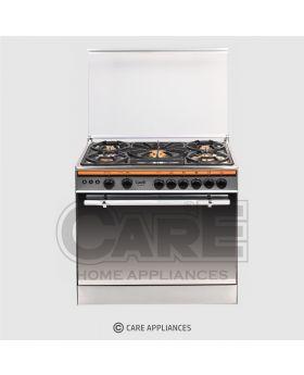 Care Cooking Range 207 BB Silver Single Door