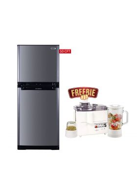 Orient Ice Refrigerator 260 Liters + National 3 In 1 Juicer, Blender & Dry Mill SP-178-J