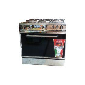 Sky Flame Cooking Range AG Eight 34 inch 5 burner Steel