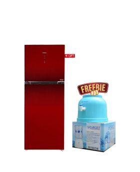 Haier Glass Door HRF-306 IPB / IPR Digital Panel Inverter Refrigerator + Target Water Dispenser