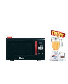 Haier Microwave Oven HGN-36100EGB +  National Romex 2 in 1 Juicer Blender
