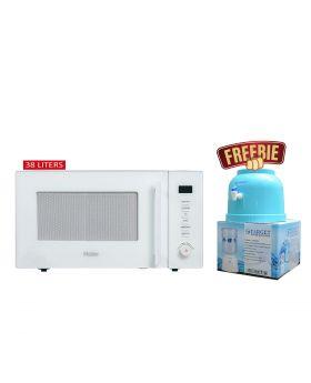 Haier Microwave Oven HGN-38100EGW + Target Water Dispenser
