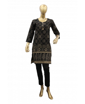 ladies-stiched-kurti-black-with-pearl-design