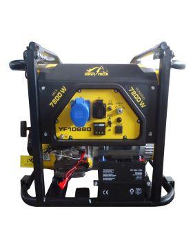 Super Max Portable Gasoline Generator YF 10880 + Gaskit + Battery