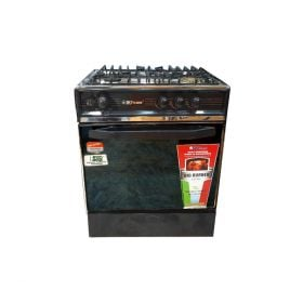Sky Flame Cooking Range AG Seven 27 Inch 3 burner Black