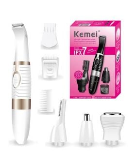 Kemei KM - PG500 4 in 1 Electric Nose Beard Trimmer Shaver