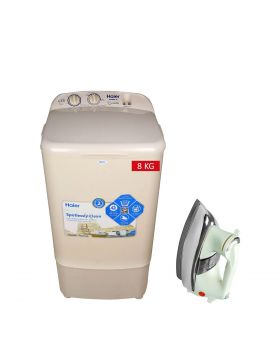 Haier W/M HWM-8035 + National Deluxe Automatic Iron