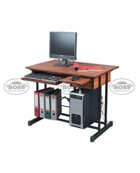 Boss B-448 Wooden Computer Table With Drawer and a Shelf