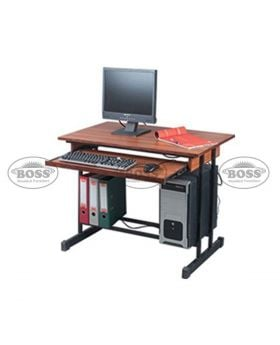 Boss B-449 Wooden Computer Table with Shelf