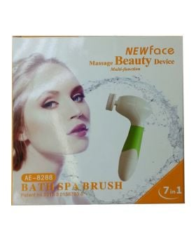 BATH SPA NEW FACE WATERPROOF 7IN1 CORDLESS CLEANSING BRUSH AE- 8288