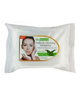 BioMiracle Makeup Towelettes Aloe Vera