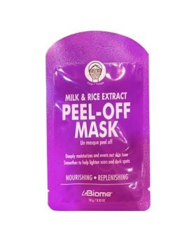 BioMiracle Milk & Rice Extract Peel-off Mask 10g