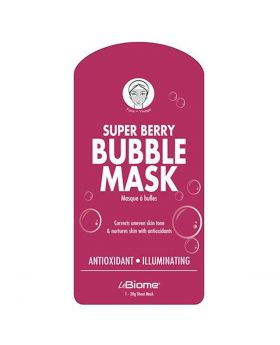 BioMiracle Super Berry Bubble Mask
