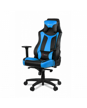 AROZZI VERNAZZA BLUE GAMING CHAIR METAL FRAME, ARMREST 3-DIMENSIONAL , 5 LOCKABLE ROCKING POSITIONS