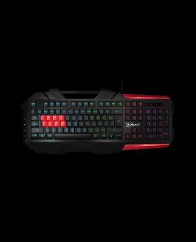 A4TECH Bloody Gaming Keyboard B3590R (BLACK) RGB BROWN SWITCH