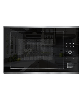 Crown BMW-34B2D Built-In Microwave Oven 34 Litre Full Conventional – Black