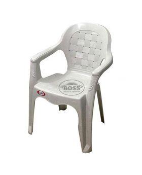 Boss Full Plastic Regular Chair - B-826