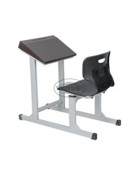 Boss Joint Bench Desk for Masjid 1-Seater - B-446