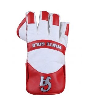 CA Wicket Keeping Gloves White Gold