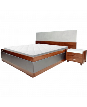 Chocolate Bookcase Bed Set