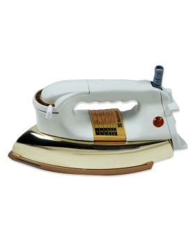 National Heavy Duty  Sole iron Non stick plate Tore Copper Model#106 Back light handle