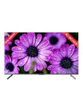 EcoStar 43 Inch Official Google Android 10 - UHD TV - CX-43UD961