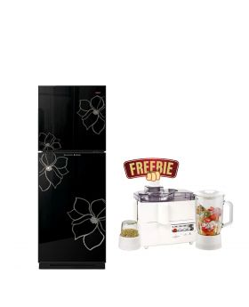 Orient Glass Door Diamond Refrigerator 200 Liters + National 3 In 1 Juicer, Blender & Dry Mill SP-178-J