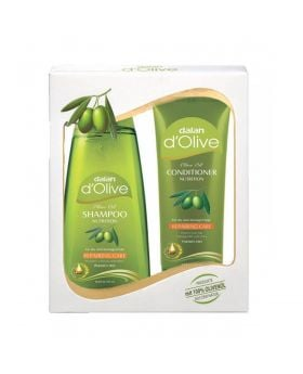 Dalan d'Olive Shampoo + Conditioner - Gift Set