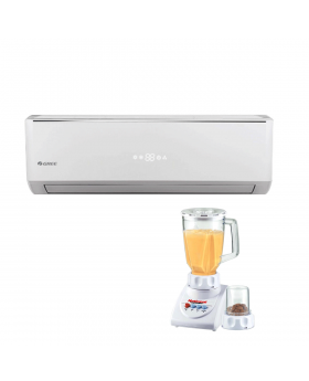 Gree Lomo Split Air Conditioner 1.5 Ton GS-18LM5 + National Romex Blender 2 In 1