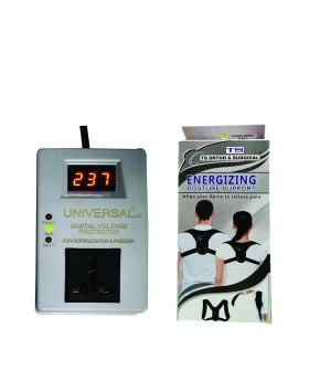 Universal Digital Voltage Protector + TS Energizing Posture Support