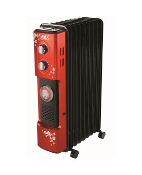 Anex 9 Fins Oil Filled Radiator Heater