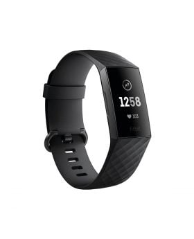 Fitbit Charge 3 Fitness Activity Tracker Black