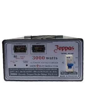Zoppas Fully Automatic Voltage Stablizer 3000 Watts