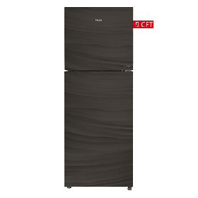Haier Glass Door Refrigerator HRF-246 EPR/EPB/EPC Without Handle -Light Brown