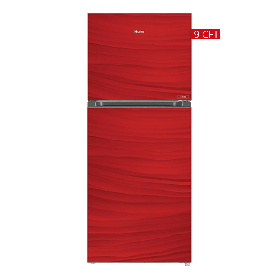 Haier Glass Door Refrigerator HRF-246 EPR/EPB/EPC Without Handle -Red