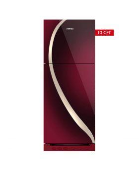 Homage Glass Door Refrigerator HRF-47442-MRN 13 Cuft