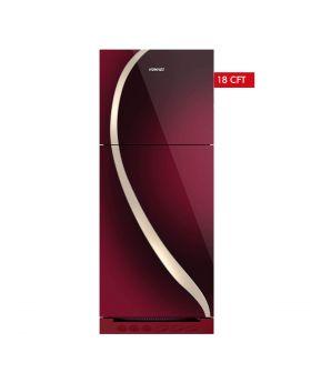 Homage Glass Door Refrigerator HRF-47662-MRN 18 Cuft