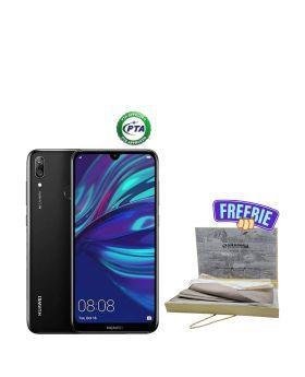 Huawei Y7 Prime 2019 64GB + Surmawala Simple Cotton Unstitched Men Suit