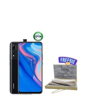Huawei Y9S (6/128-GB) +  Surmawala Simple Cotton Unstitched Men Suit