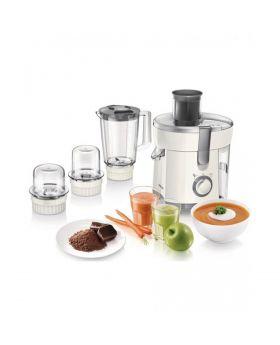 Viva Collection Juicer, Blender, Grinder and Chopper HR1847/00