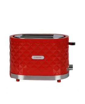 Jackpot 2 Slice Toaster Red JP-976