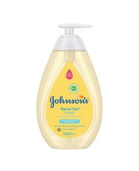 Johnson's Baby Wash Top To Toe 500ml