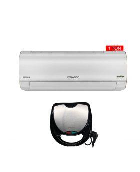 Kenwood 1 Ton E-Tech Inverter Air Conditioner KET-1228 + Aldon Golden Sandwich Maker AD-252