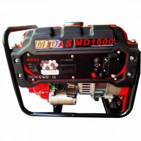 Midas Petrol Generator MD-1500 1.2 Kw