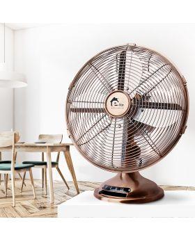 E-Lite Metal Table Fan Copper ETF-30M