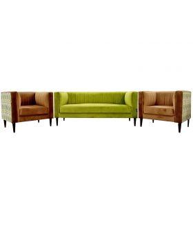 Multi Floral Sofa Set